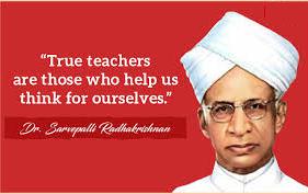 Sarvepalli Radhakrishnan Teachers Day