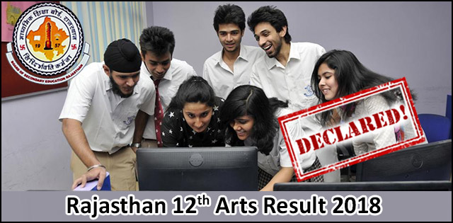 LIVE: RBSE Result 2018 For Class 12th Arts Stream Will Be Out Today @ rajresults.nic.in