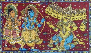 Ram and Ravana
