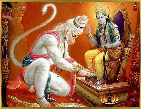 Rama and Hanuman