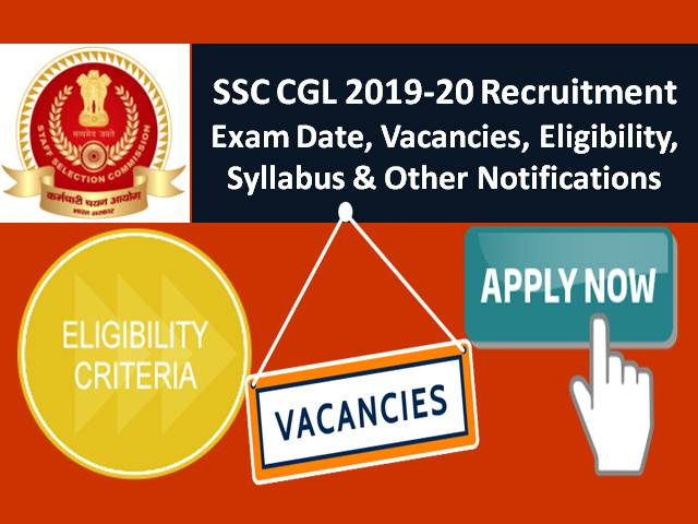 SSC CGL 2019-20 Exam Dates and other updates