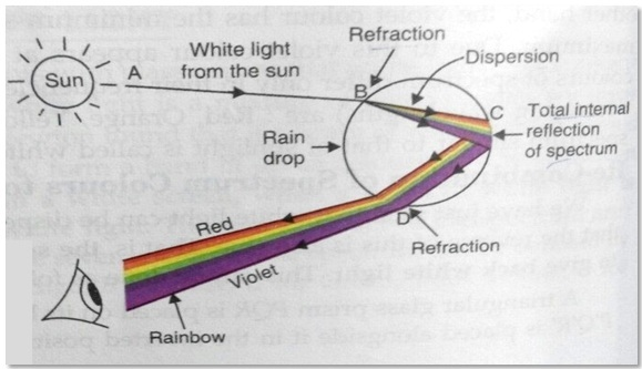 Refraction of light through a glass prism jagranjosh atmospheric refraction fandeluxe Image collections