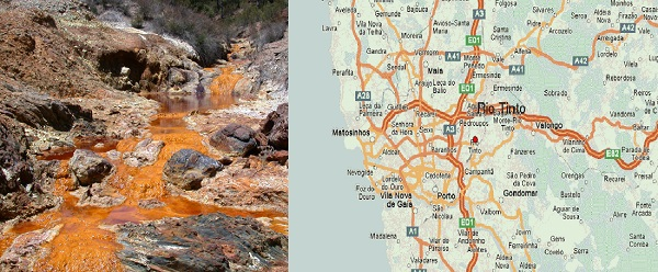 Rio Tinto, Portugal and Spain