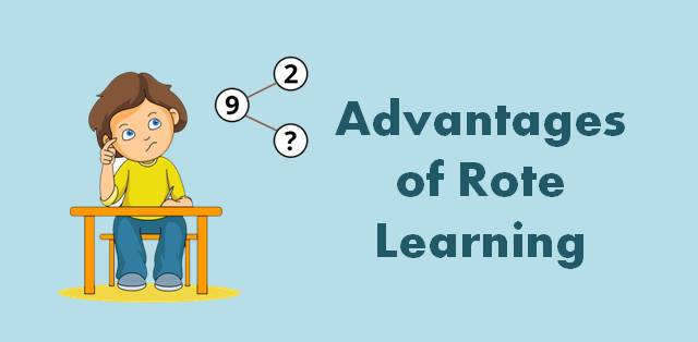 what is rote learning and how is it helpful