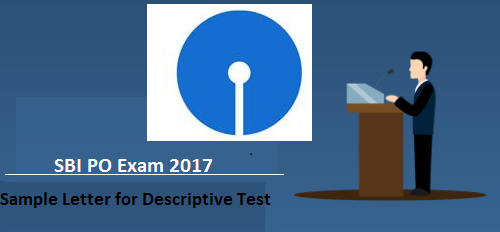 Descriptive test letter writing format