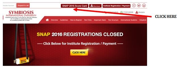 SNAP Score Card