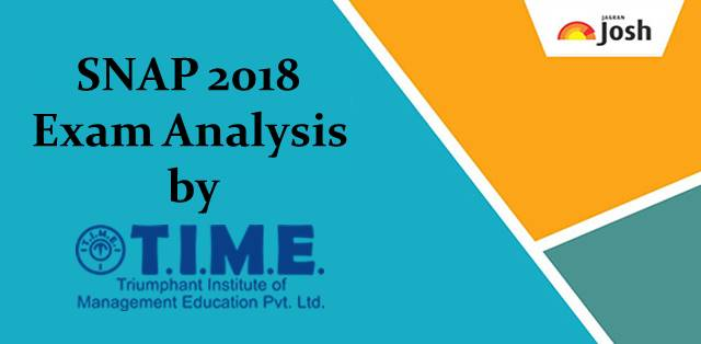 SNAP 2018 Exam Analysis