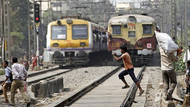 How safety is provided to Indian railway