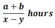 Same Direction Formula