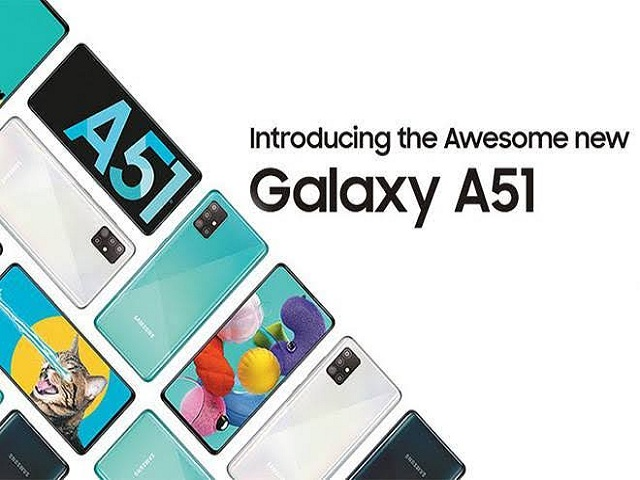 Samsung Galaxy A51 with Quad Rear Cameras Launched in India