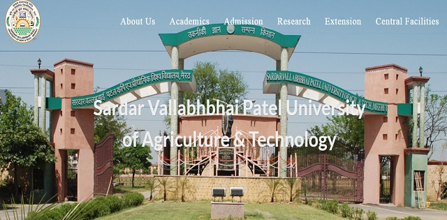 Sardar Vallabhbhai Patel University of Agriculture & Technology