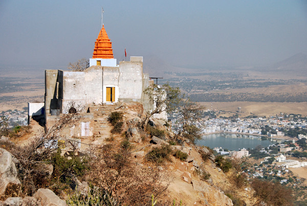 Where is Savitri Temple situated