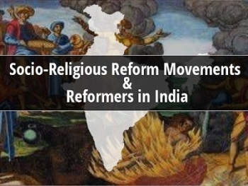 GK Questions and Answers on the Socio-Religious Reforms Movement in