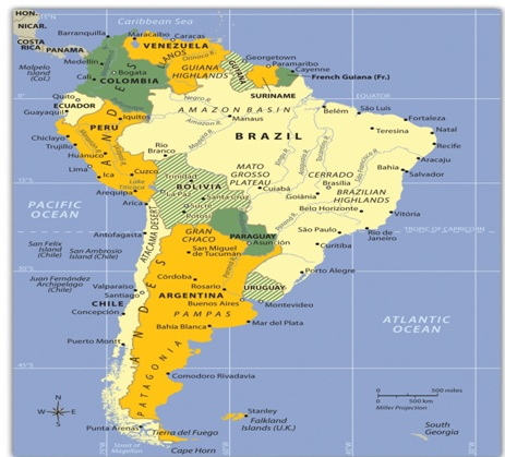 South America: Fact at a Glance on