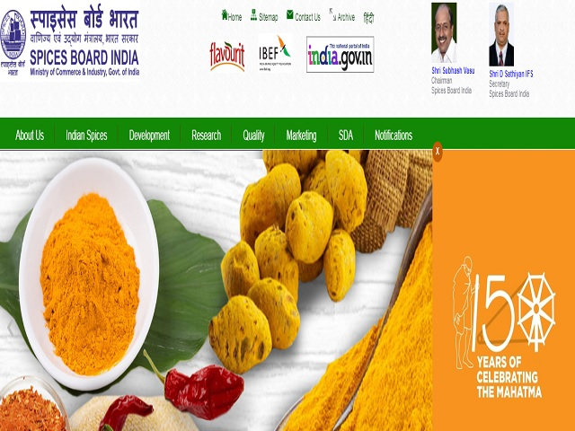 Spices Board recruitment 2019, jobs at the Trainee Analyst (Chemistry & Microbiology) Posts