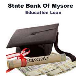State Bank Of Mysore Education Loan