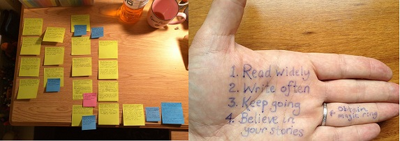Use of Sticky Notes in Study