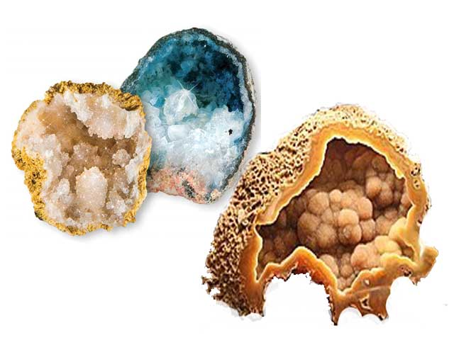 Structure of Geodes