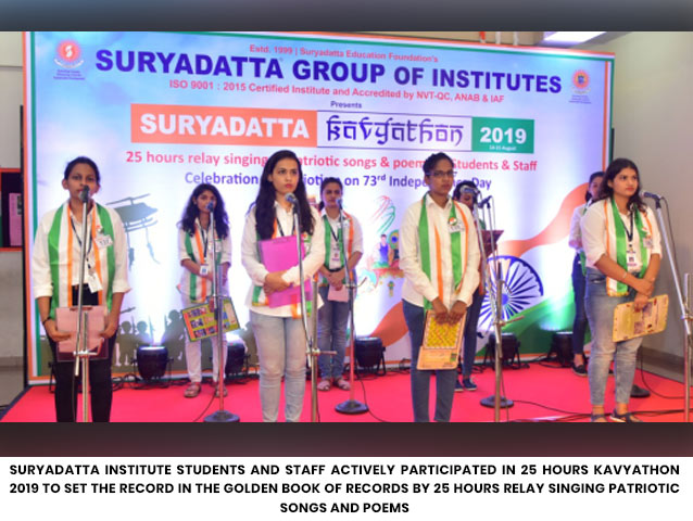 Suryadatta Group of Institutes - Enriching Careers & Enhancing Lives Since 1999