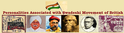 Swadeshi Movement Personalities