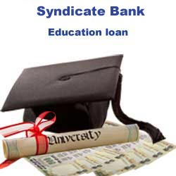 Syndicate Bank Education Loan