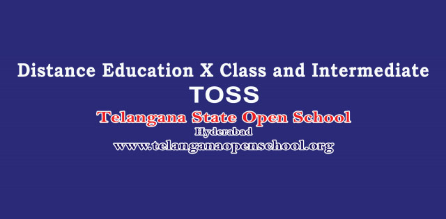 TOSS Datesheet 2018 for SSC and Intermediate date and time declared at telanganaopenschool-org