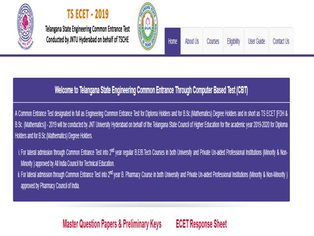 TS ECET 2019 Results to be declared today, Download at ecet