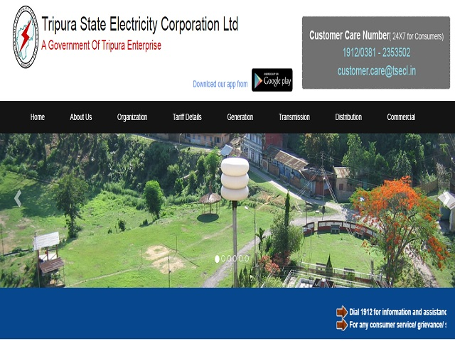 Tripura State Electricity Corporation Limited (TSECL) Project Director (IT) and Other Posts 2019