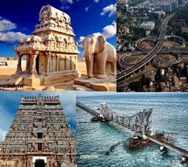 Tamil Nadu famous tourists places in India