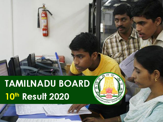 Tamilnadu Board SSLC (10th) Result 2020