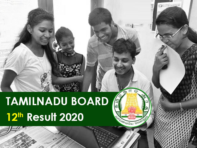 Tamilnadu Board HSC (12th) Result 2020