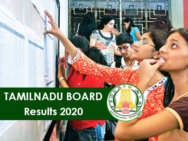Tamilnadu Board Result 2020
