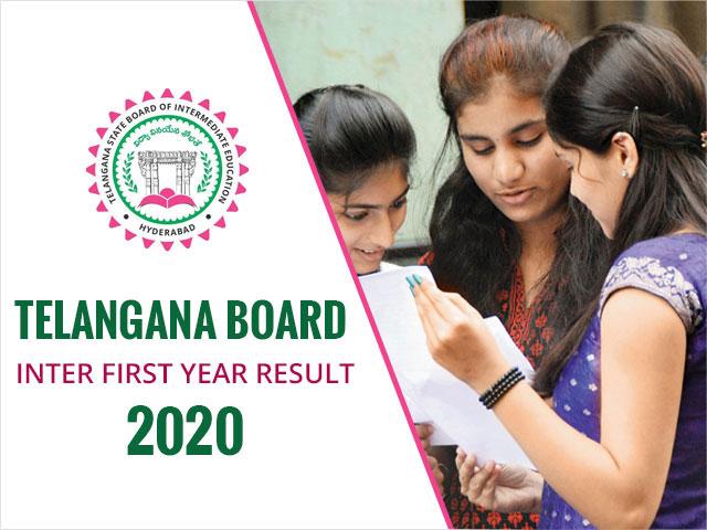 Telangana Board Inter First Year Result 2020