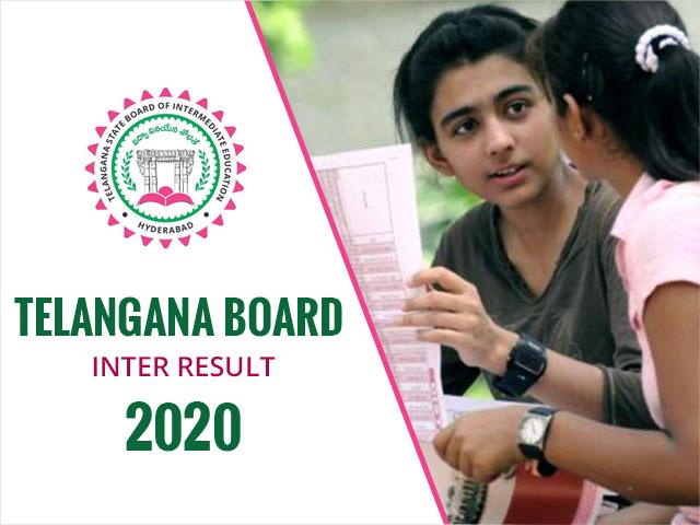 Telangana Board Inter Result 2020