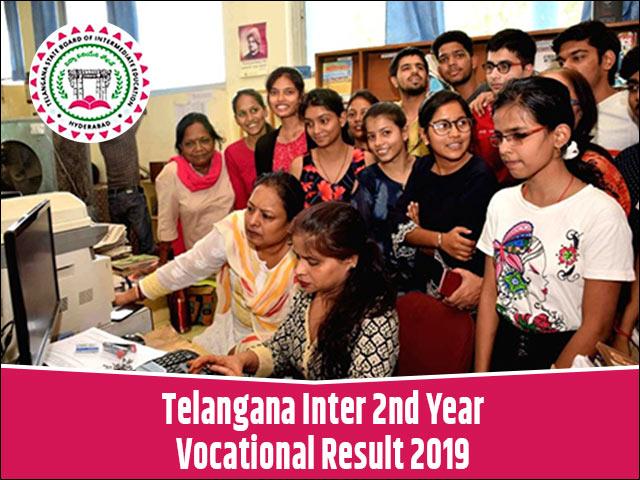 Telangana-Inter-2nd-Year-Vocational-Result-2019