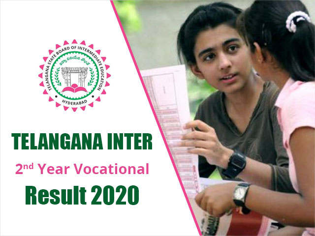 Telangana Board Inter 2nd Year Vocational Result 2020