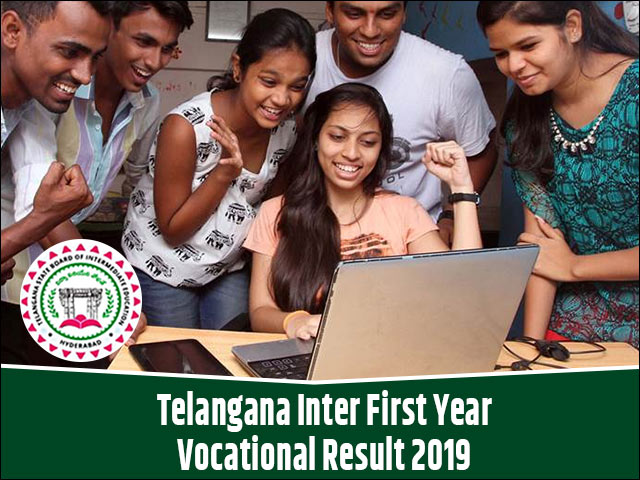 Telangana-Inter-First-Year-Vocational-Result-2019