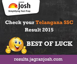 SSC Results 2015 Telangana
