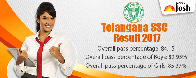 TS Board SSC Results 2017 Declared on bse.telangana.gov.in, 84.15% students clear the exam