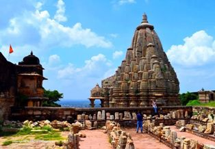 Temples at Chittorgarh Fort