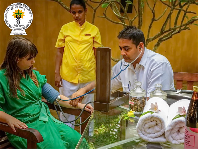 The Available Courses in the field of Ayurveda