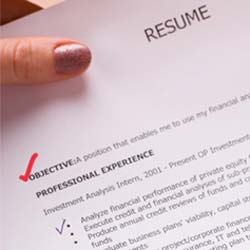 common objectives for resumes