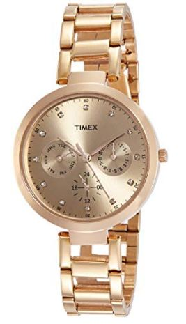 Timex Rose Gold Watch