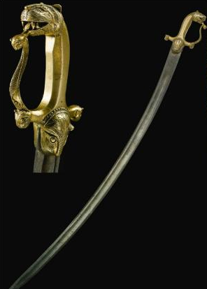 Tipu Sultan Sword features