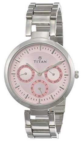 Titan Pink Watch
