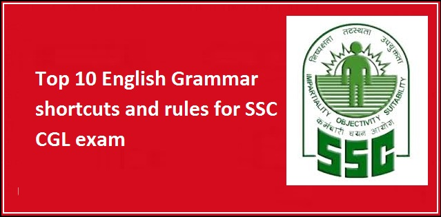 SSC CGL english shortcuts