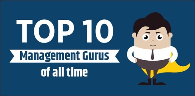 Top 10 Management Gurus of all time