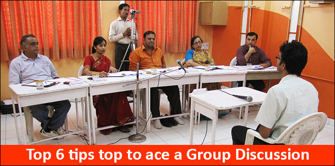 Top 6 Tips to Ace a Group Discussion