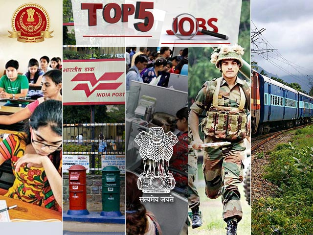 Top 5 Govt Jobs of the Day 09 August 2019