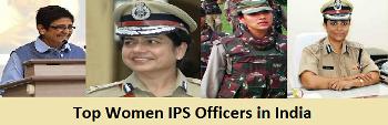 Top Women IPS Officers
